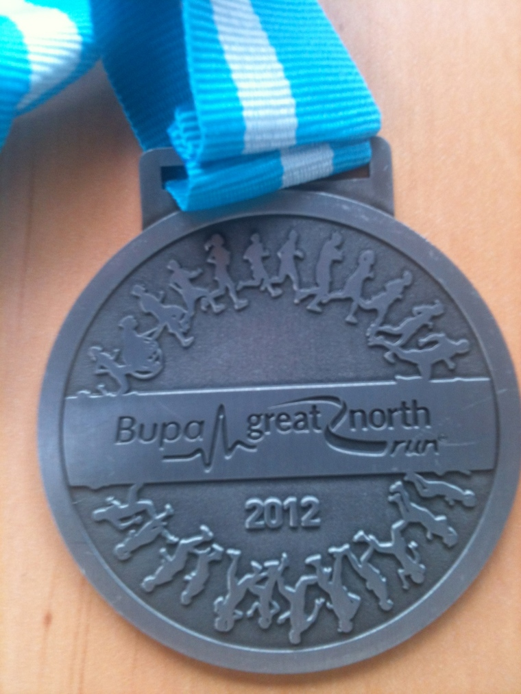 Great North Run, 2012