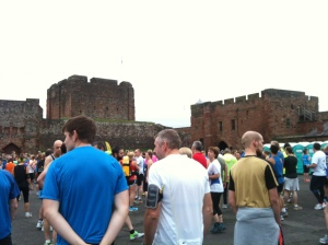 Starting at Carlisle Castle!