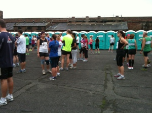 More toilets than runners!